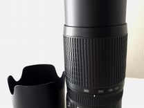 Объектив Nikon Nikkor Lens AF-S VR Zoom 70-300mm — Фототехника в Геленджике