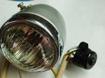 Старинный свет на веломопед (газовый )