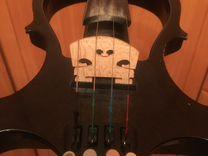Электроскрипка 4/4 полный комплект