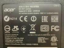 Ноутбук Acer E5 521
