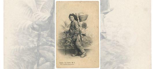 Продать открытку 1912, лилией