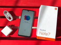 Xiaomi Redmi Note 7 (Черный) 3+32гб Гарантия год