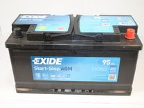 Аккумулятор Exide Start-Stop Agm 95Ah