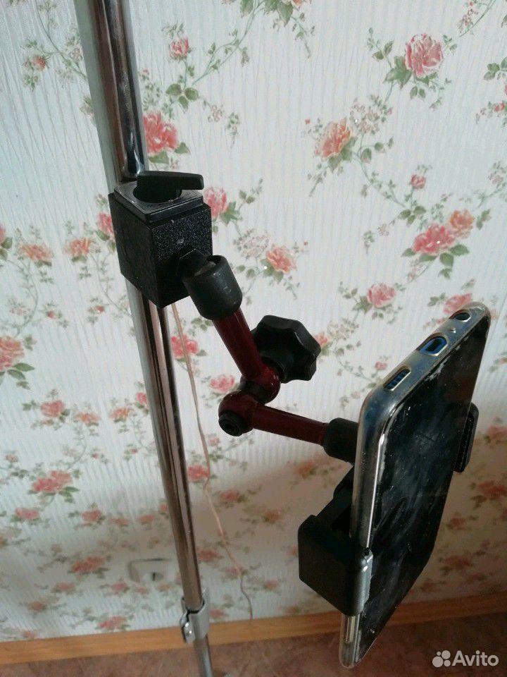 Магнитный держатель для цифрового индикатора и тел  89991322624 купить 1