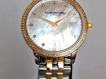 Шикарные женские часы на браслете Raymond Weil