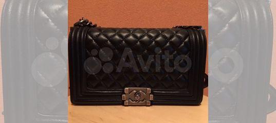 d3a5962a0be4 Сумки Chanel Le Boy Клатч Новый Шанель Бой купить в Москве на Avito —  Объявления на сайте Авито