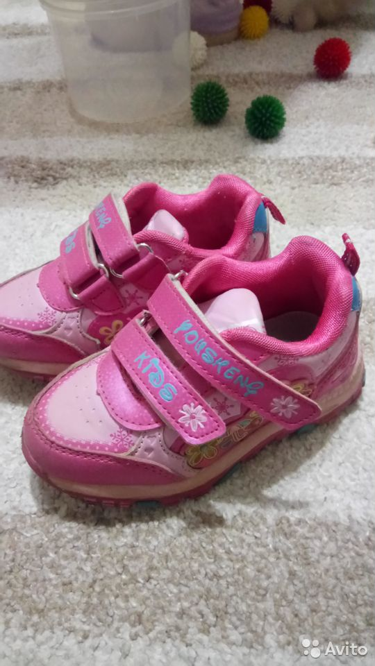 Кроссовки для девочки, р. 25  89213578617 купить 1