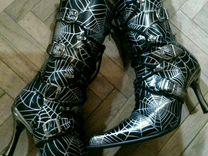 Две пары сапог New rock — Одежда, обувь, аксессуары в Москве